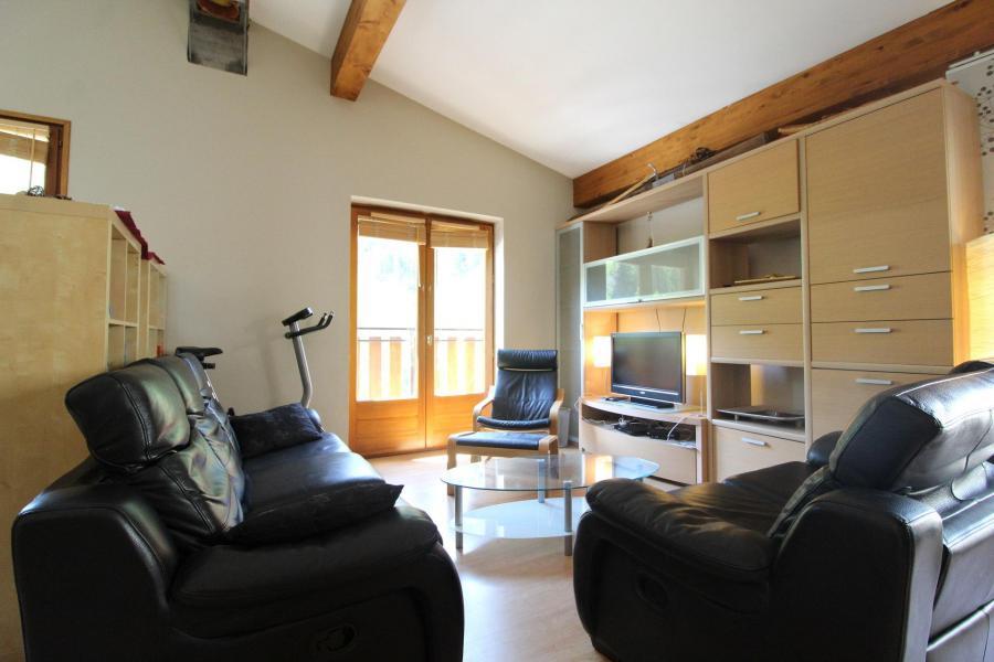 Vakantie in de bergen Appartement duplex 4 kamers 6 personen (001) - Maison Gagnière - Val Cenis - Sofa
