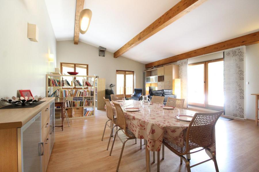 Vakantie in de bergen Appartement duplex 4 kamers 6 personen (001) - Maison Gagnière - Val Cenis - Woonkamer