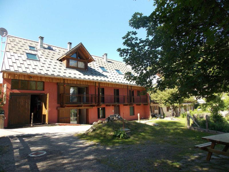 Аренда на лыжном курорте Maison l'Alpe de Virgile - Valloire - летом под открытым небом