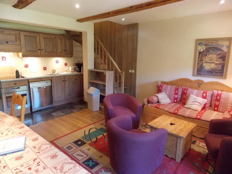 Wakacje w górach Apartament duplex 5 pokojowy 10 osób (Mado) - Maison l'Alpe de Virgile - Valloire - Pokój gościnny