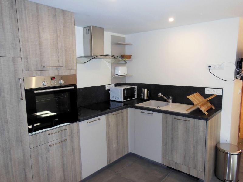 Vakantie in de bergen Appartement 2 kamers 4 personen (CL) - Maison Massoulard - Champagny-en-Vanoise - Keukenblok