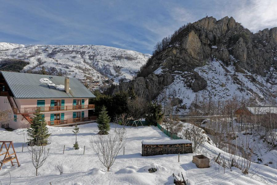 Holiday in mountain resort Maison Notre Nid - Valloire