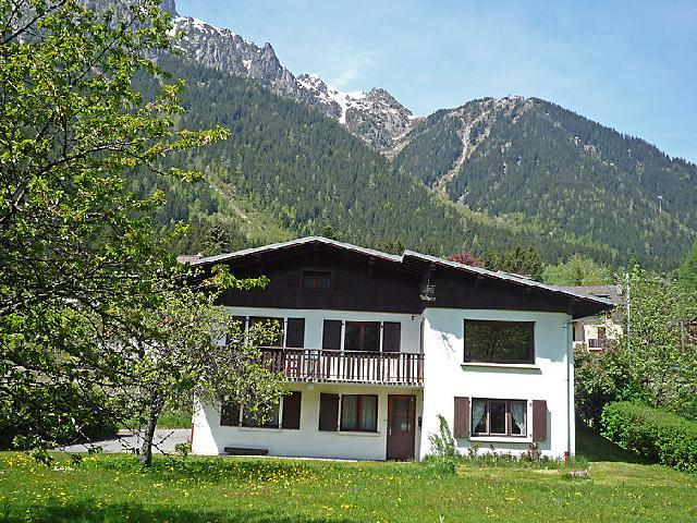 Holiday in mountain resort 3 room apartment 4 people (1) - Maison Novel - Chamonix - Summer outside