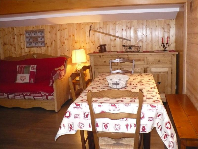 Holiday in mountain resort 3 room apartment 6 people - Maison Roc Saint Pierre - Valloire