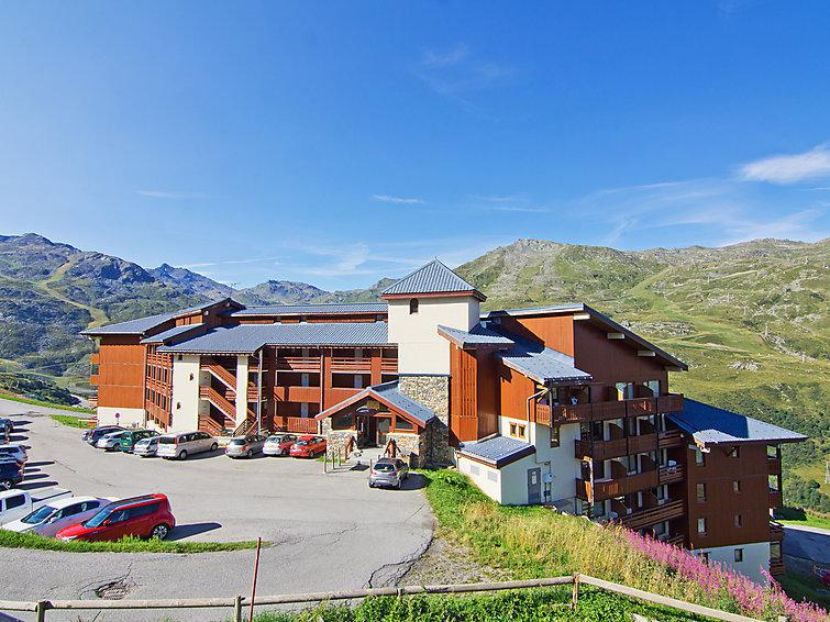 Holiday in mountain resort 2 room apartment 6 people (1) - Nécou - Les Menuires - Summer outside