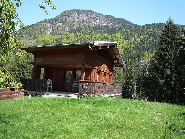 Holiday in mountain resort 3 room chalet 6 people (1) - Pierre Blanche - Les Houches - Summer outside
