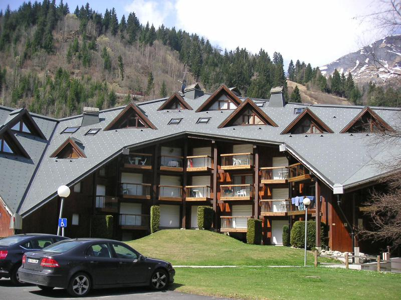 Holiday in mountain resort 1 room apartment 4 people (12) - Pierres Blanches F et H - Les Contamines-Montjoie - Summer outside