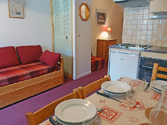 Holiday in mountain resort 1 room apartment 4 people (1) - Plein Soleil - Tignes - Accommodation