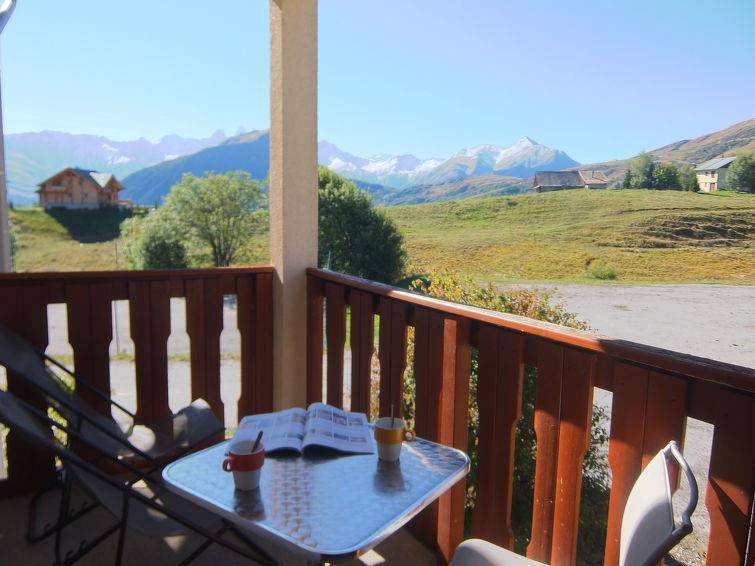 Аренда на лыжном курорте Апартаменты 2 комнат 4 чел. (1) - Plein Soleil - La Toussuire - летом под открытым небом
