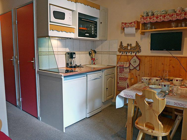 Holiday in mountain resort 1 room apartment 4 people (7) - Plein Soleil - Tignes - Summer outside