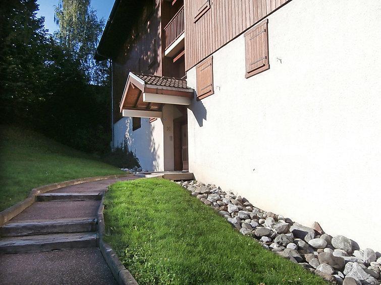 Vacaciones en montaña Pointe des Aravis - Saint Gervais - Verano