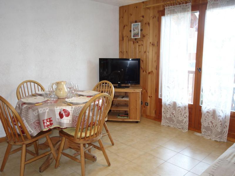 Vacaciones en montaña Apartamento 1 piezas para 4 personas (4) - Pointe des Aravis - Saint Gervais
