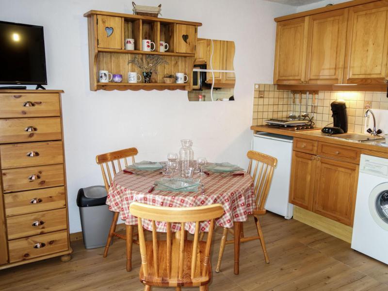Vacaciones en montaña Apartamento 1 piezas para 3 personas (3) - Pointe des Aravis - Saint Gervais - Verano
