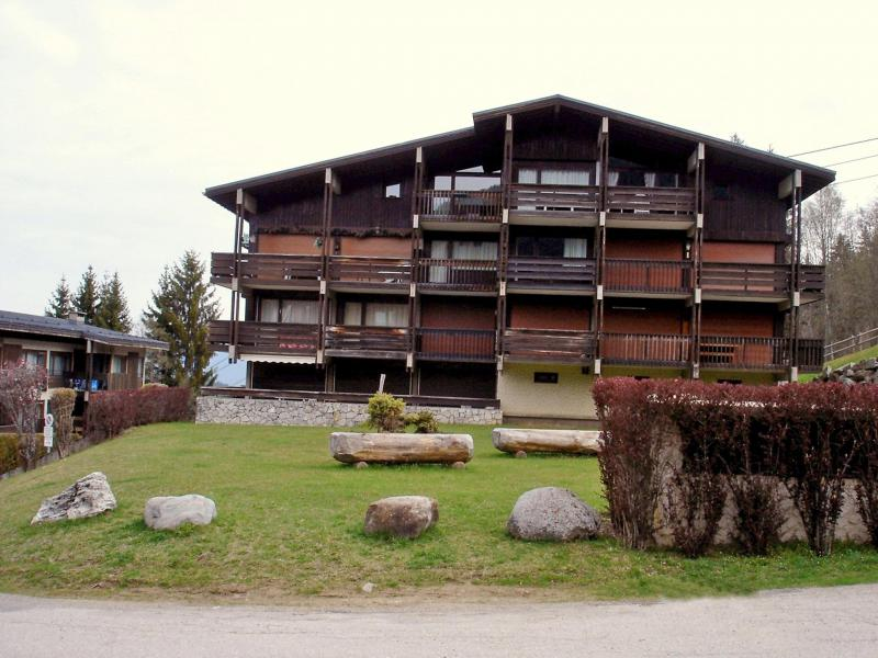Holiday in mountain resort 1 room apartment 4 people (1) - Prairial - Megève - Summer outside
