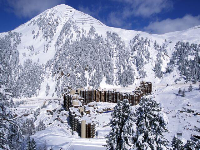 Holiday in mountain resort Résidence 3000 - La Plagne - Plan