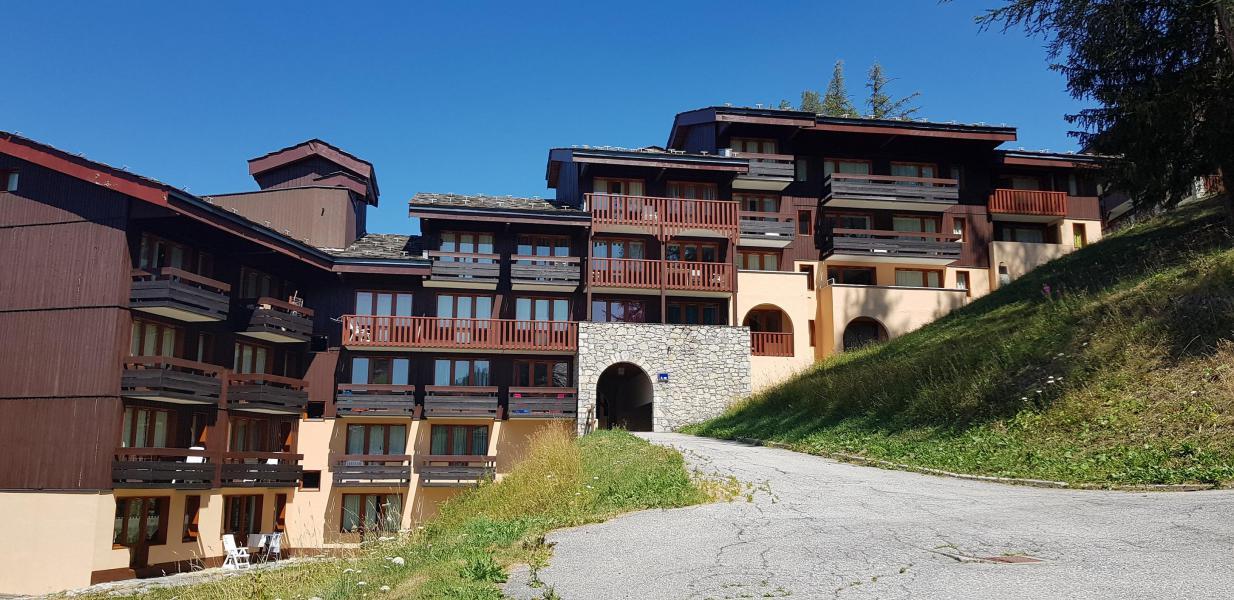 Vakantie in de bergen Appartement 2 kamers 6 personen (525) - Résidence 4ème Dé - Montchavin La Plagne - Buiten zomer