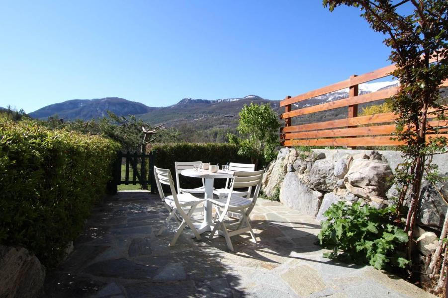 Vakantie in de bergen Appartement 2 kamers 6 personen (ADO4B) - Résidence Adonis B - Pelvoux - Eethoek