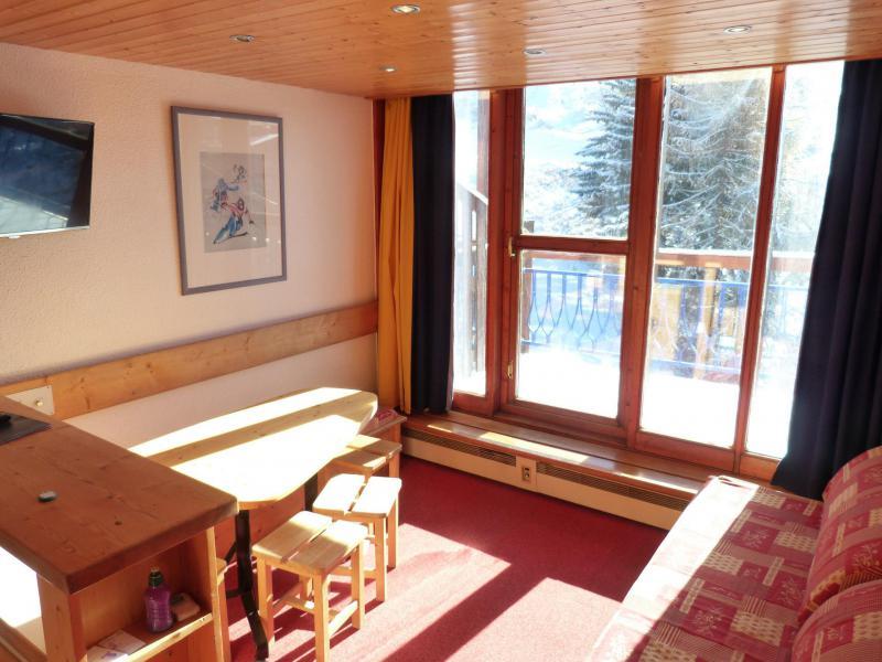 Vacances en montagne Appartement 2 pièces mezzanine 6 personnes (1406) - Résidence Aiguille Grive Bat I - Les Arcs - Canapé