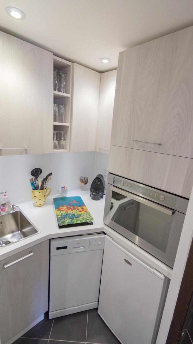 Holiday in mountain resort 2 room apartment cabin 6 people (G08) - Résidence Aime 2000 - l'Étoile - La Plagne - Kitchenette