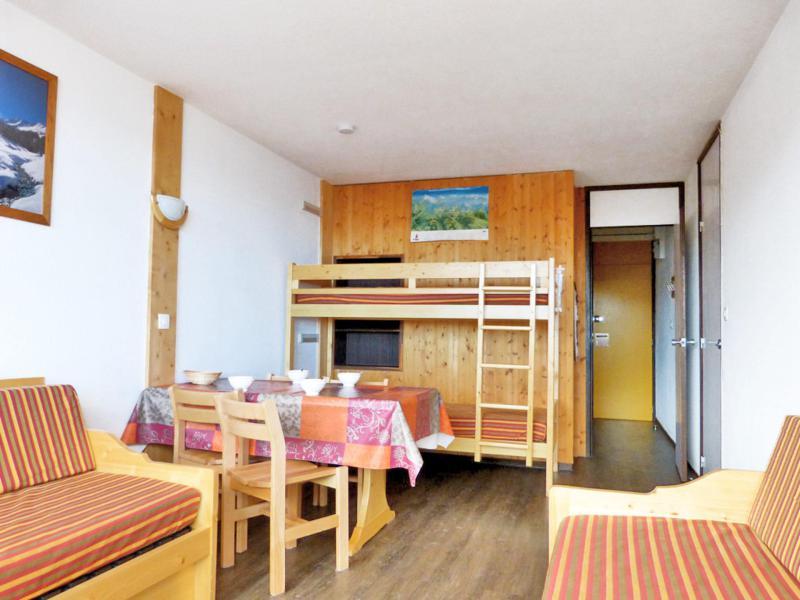 Holiday in mountain resort Studio 4 people (D107) - Résidence Aime 2000 - l'Étoile - La Plagne - Living room