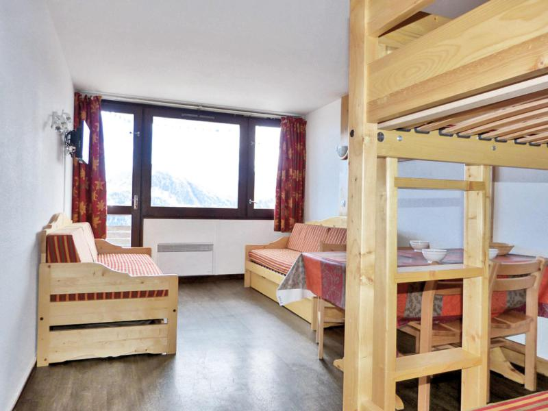 Holiday in mountain resort Studio 4 people (D107) - Résidence Aime 2000 - l'Étoile - La Plagne - Sofa-bed