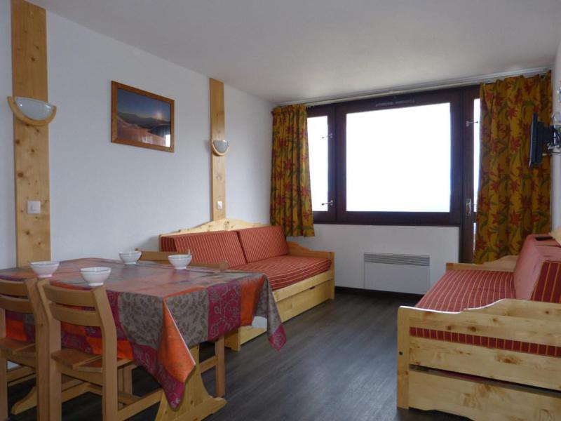 Holiday in mountain resort Studio 4 people (D108) - Résidence Aime 2000 - l'Étoile - La Plagne - Living room
