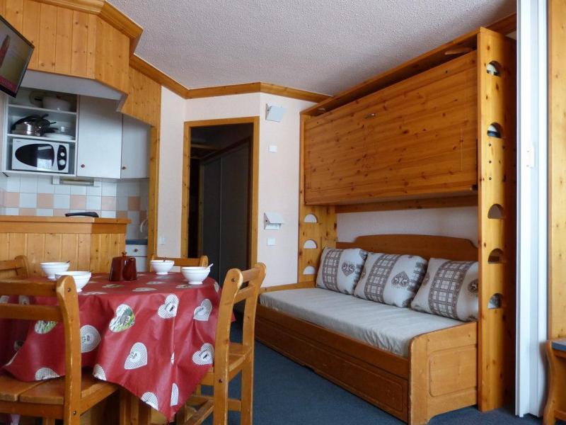 Holiday in mountain resort Studio 4 people (44) - Résidence Aime 2000 Paquebot des Neiges - La Plagne
