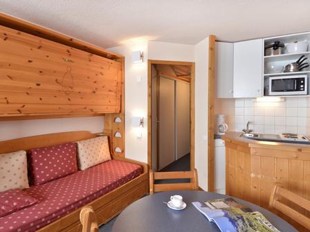 Holiday in mountain resort Studio 4 people (40) - Résidence Aime 2000 Paquebot des Neiges - La Plagne