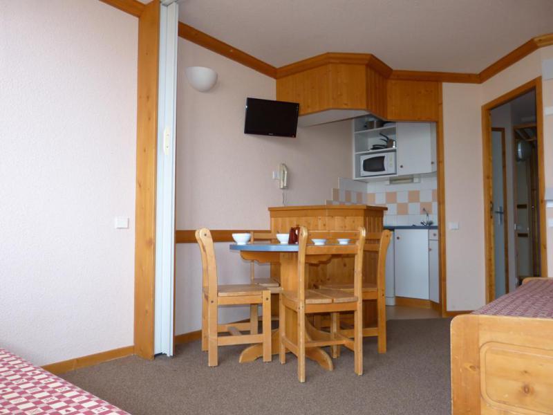 Holiday in mountain resort Studio 4 people (33) - Résidence Aime 2000 Paquebot des Neiges - La Plagne