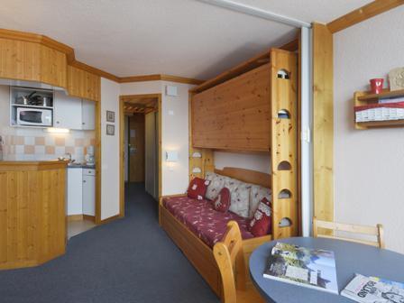 Holiday in mountain resort Studio 4 people (149) - Résidence Aime 2000 Paquebot des Neiges - La Plagne