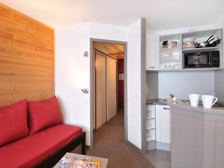 Holiday in mountain resort Studio 4 people (I127) - Résidence Aime 2000 Zénith - La Plagne