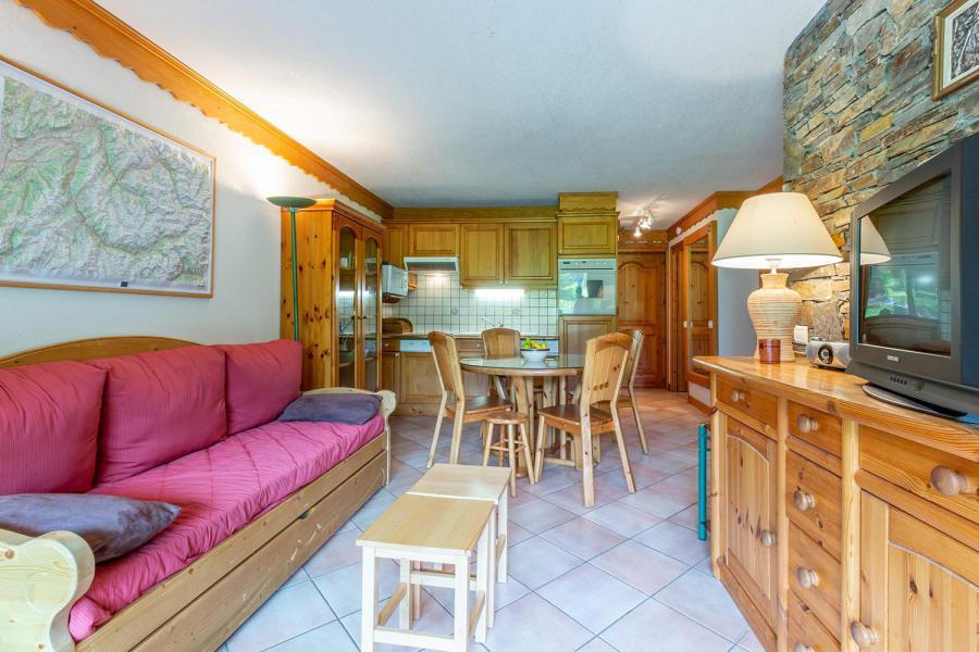 Vacaciones en montaña Apartamento 3 piezas para 6 personas (004) - Résidence Alpages A - Méribel-Mottaret - Estancia