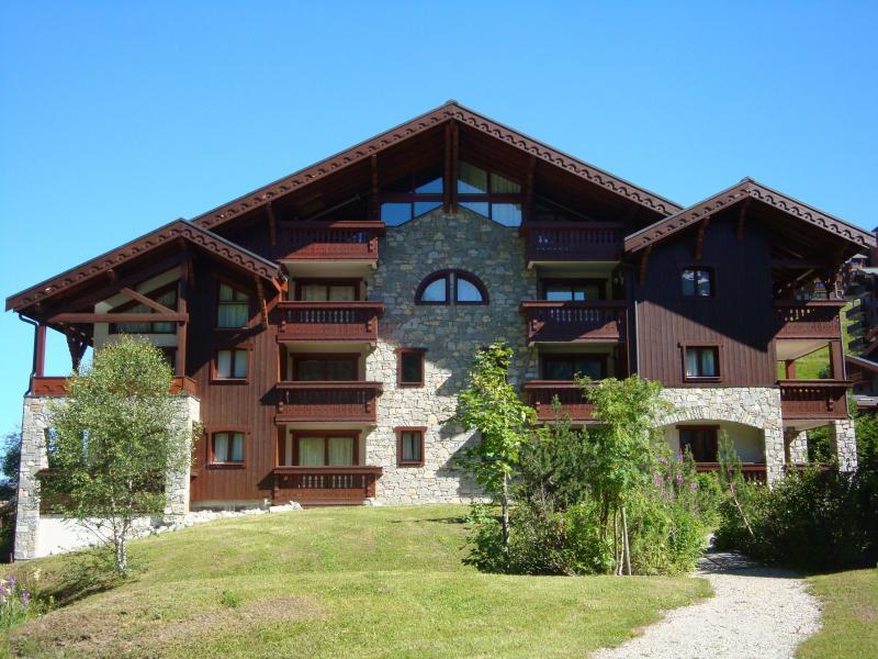 Location au ski Résidence Alpages D - Méribel-Mottaret - Extérieur été