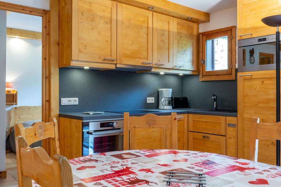 Vacaciones en montaña Apartamento 4 piezas para 8 personas (002) - Résidence Alpages D - Méribel-Mottaret - Kitchenette