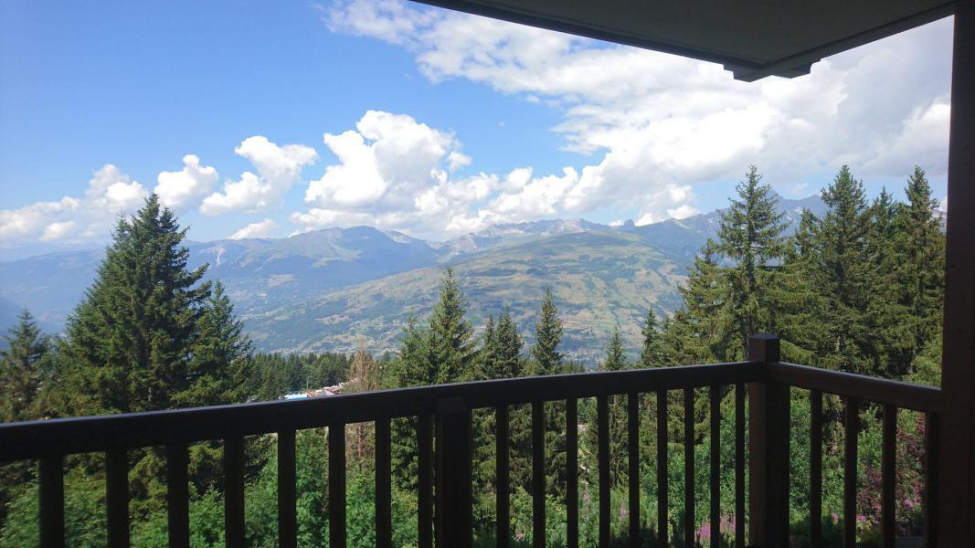Wynajem na narty Apartament 4 pokojowy 8 osób (11) - Résidence Alpages du Chantel - Les Arcs - Na zewnątrz latem