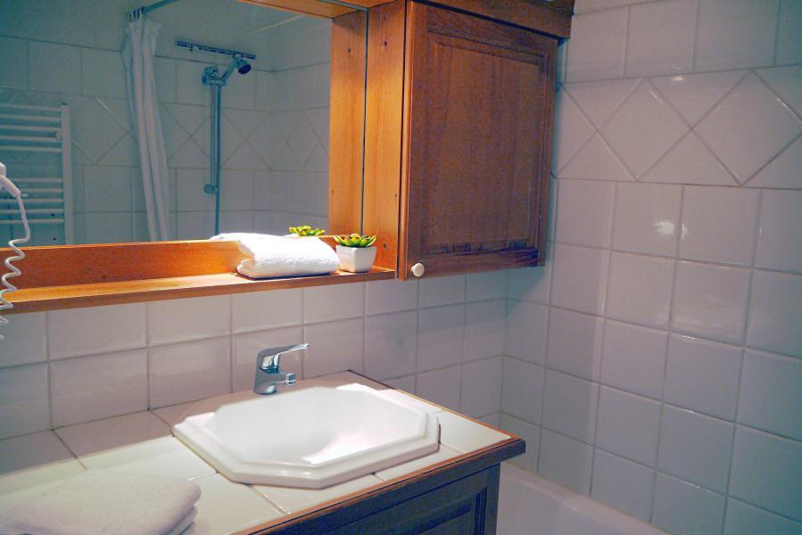 Vacances en montagne Appartement 3 pièces 7 personnes (005) - Résidence Alpages E - Méribel-Mottaret - Baignoire