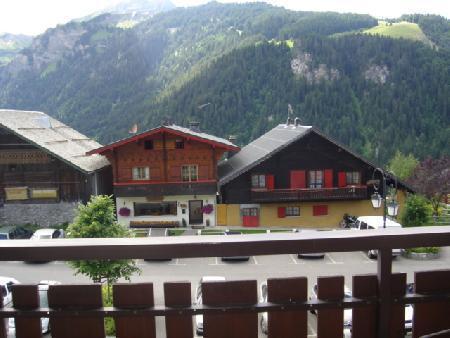 Rent in ski resort Studio sleeping corner 4 people (115) - Résidence Alpenlake - Châtel - Summer outside