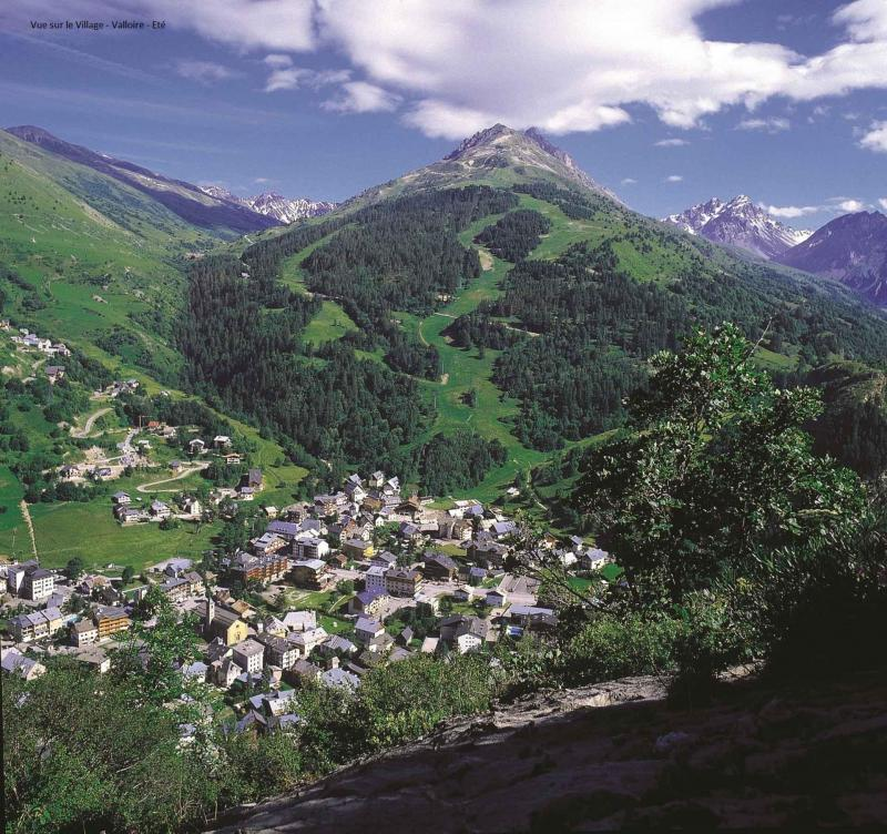 Аренда на лыжном курорте Квартира студия кабина для 4 чел. (87) - Résidence Altair - Valloire - летом под открытым небом