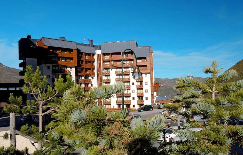 Vacances en montagne Résidence Altineige - Val Thorens - Extérieur été