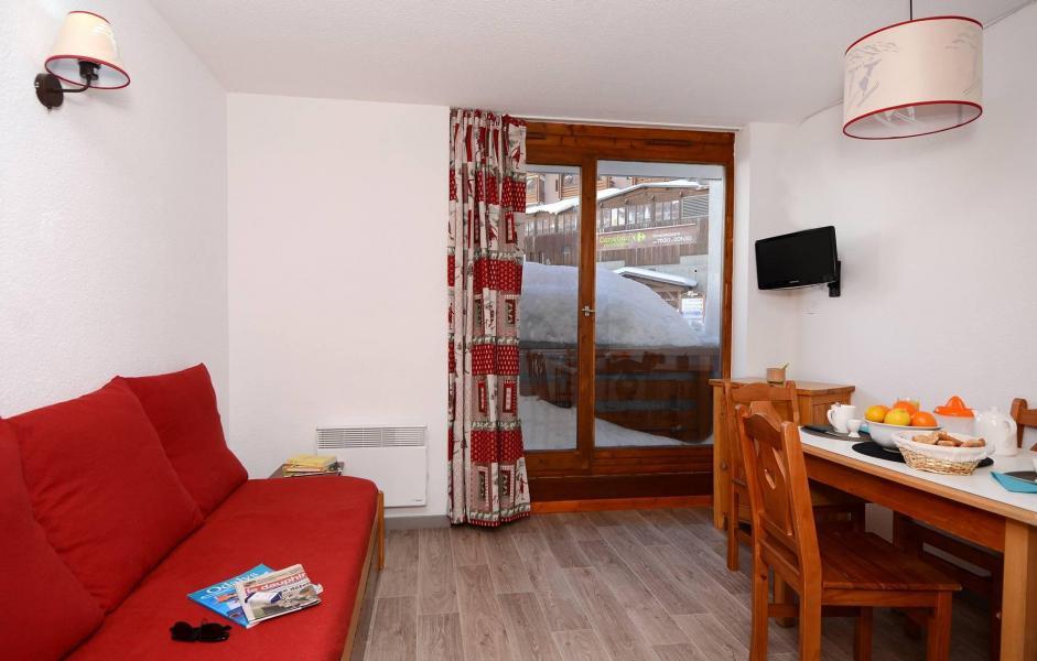 Urlaub in den Bergen Résidence Altineige - Val Thorens - Wohnzimmer