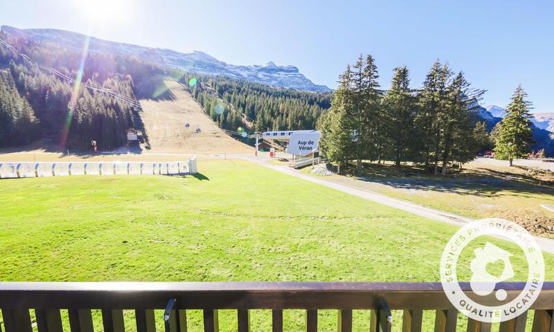 Аренда на лыжном курорте Квартира студия для 4 чел. (Budget 17m²-2) - Résidence Antarès - Maeva Home - Flaine - летом под открытым небом