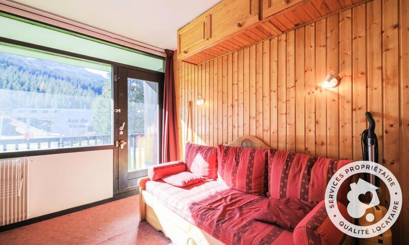 Аренда на лыжном курорте Квартира студия для 4 чел. (Budget 18m²-1) - Résidence Antarès - Maeva Home - Flaine - летом под открытым небом