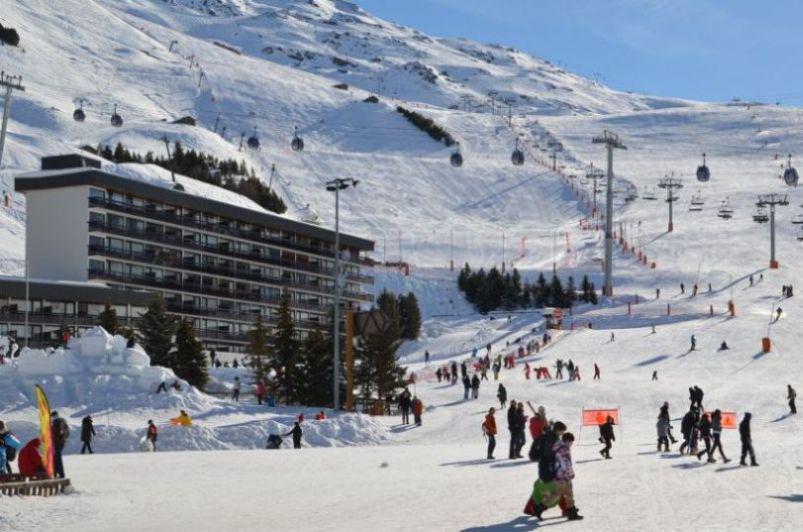 Location au ski Residence Aravis - Les Menuires - Extérieur été