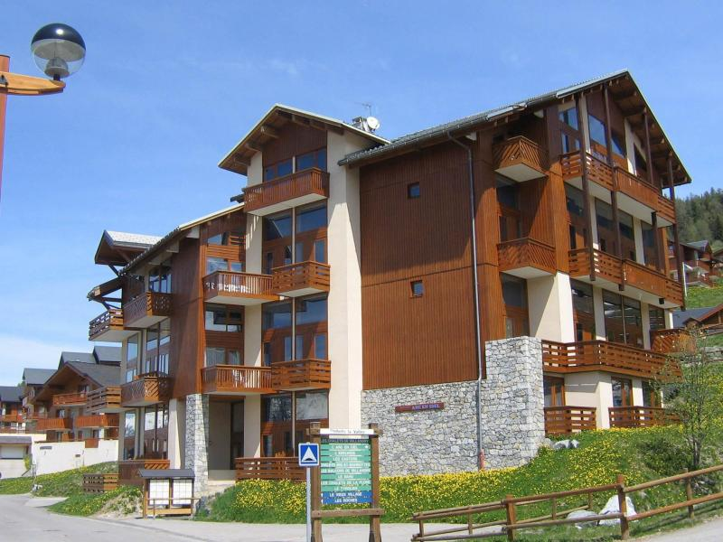 Location au ski Résidence Arc en Ciel - Peisey-Vallandry - Extérieur été
