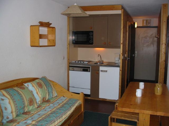 Vakantie in de bergen Appartement 2 kabine kamers 4 personen (402) - Résidence Arcelle - Val Thorens