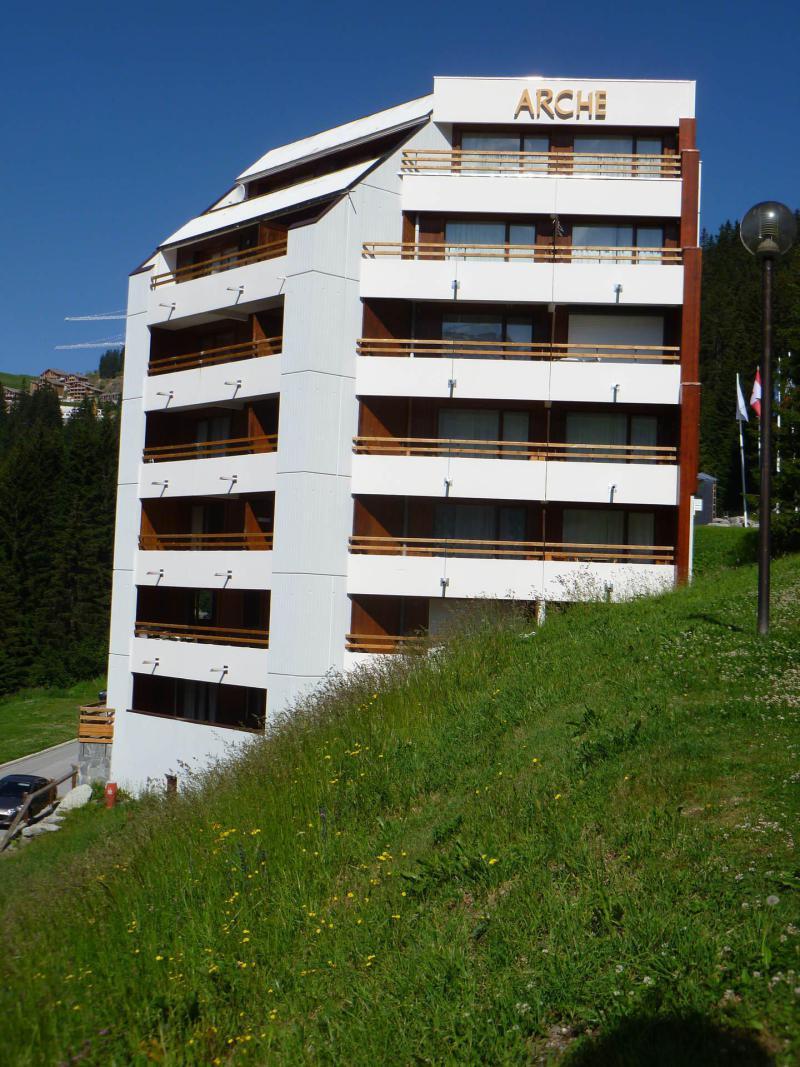 Аренда на лыжном курорте Résidence Arche - Flaine - летом под открытым небом
