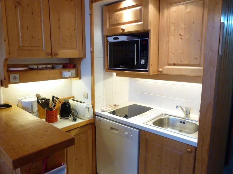 Vacances en montagne Appartement 2 pièces 5 personnes (416) - Résidence Archeboc - Les Arcs - Cuisine