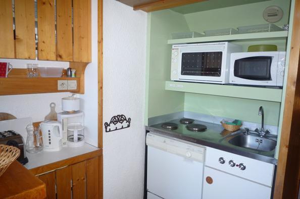 Vacances en montagne Appartement 2 pièces mezzanine 6 personnes (504) - Résidence Archeboc - Les Arcs - Cuisine