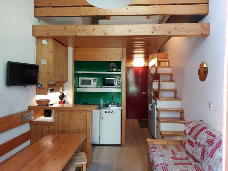 Vacances en montagne Studio coin montagne 5 personnes (111) - Résidence Archeboc - Les Arcs - Logement
