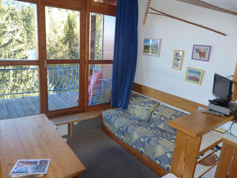 Vacances en montagne Studio mezzanine 5 personnes (510) - Résidence Archeboc - Les Arcs - Séjour